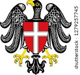 coat of arms of vienna is the... | Shutterstock .eps vector #1279257745