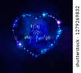heart shaped galaxy for...