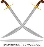 turkish   ottoman pala ... | Shutterstock .eps vector #1279282732