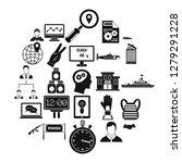 triumph icons set. simple set... | Shutterstock .eps vector #1279291228