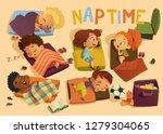 Nap Time In The Kindergarten....