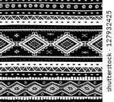 tribal vector seamless... | Shutterstock .eps vector #127932425