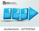 eps10 vector illustration 3d... | Shutterstock .eps vector #127935566