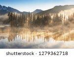 south sister and broken top... | Shutterstock . vector #1279362718