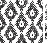 ethnic seamless pattern. chic... | Shutterstock .eps vector #1279362742
