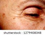 wrinkles under the eye. the... | Shutterstock . vector #1279408348