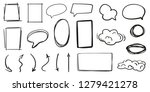 infographic elements on... | Shutterstock .eps vector #1279421278