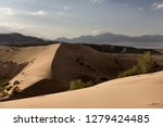 sundown at singing sand dune...   Shutterstock . vector #1279424485