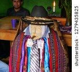 santiago atitlan  guatemala  ... | Shutterstock . vector #1279435825