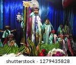 santiago atitlan  guatemala  ... | Shutterstock . vector #1279435828