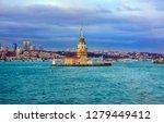 maiden's tower in istanbul ...   Shutterstock . vector #1279449412