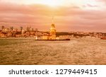 maiden's tower in istanbul ...   Shutterstock . vector #1279449415