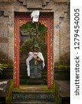 balinese doorway entrance with... | Shutterstock . vector #1279454005