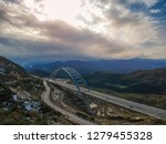 aerial view of the tsakona... | Shutterstock . vector #1279455328