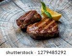 medallions of beef | Shutterstock . vector #1279485292