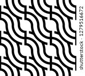 modern repeated design pattern. ... | Shutterstock .eps vector #1279516672
