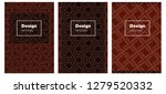 dark red vector pattern for...