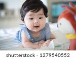 happy cute baby | Shutterstock . vector #1279540552
