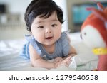 happy cute baby | Shutterstock . vector #1279540558