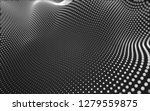 abstract polygonal space low... | Shutterstock . vector #1279559875