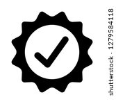 certified or approved with...   Shutterstock .eps vector #1279584118
