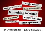 something to watch newspaper... | Shutterstock . vector #1279586398