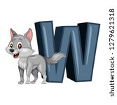 Animal Alphabet. W Is For Wolf...
