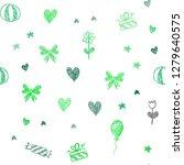 light green vector seamless... | Shutterstock .eps vector #1279640575