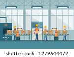 smart industrial factory in a... | Shutterstock .eps vector #1279644472