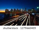 busy traffic in new york city ... | Shutterstock . vector #1279660405