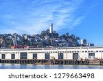 coit tower as seen from the... | Shutterstock . vector #1279663498