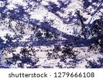 texture  pattern  lace blue on... | Shutterstock . vector #1279666108