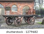 Antique Milk Carrying Cart
