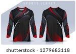t shirt sport design template ...   Shutterstock .eps vector #1279683118