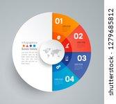 infographics design vector and... | Shutterstock .eps vector #1279685812