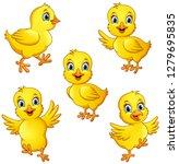 Cartoon Little Chicks...