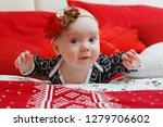 lovely five month toddler baby... | Shutterstock . vector #1279706602