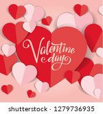 valentine's day abstract... | Shutterstock .eps vector #1279736935