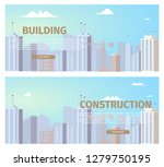 city construction projects... | Shutterstock .eps vector #1279750195