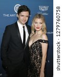 topher grace and ashley grace... | Shutterstock . vector #1279760758