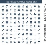 handle icons. trendy 100 handle ... | Shutterstock .eps vector #1279776742