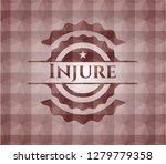 injure red seamless badge with... | Shutterstock .eps vector #1279779358