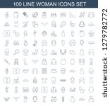 icons. trendy 100 icons.... | Shutterstock .eps vector #1279782772