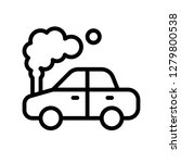 car accident vector  insurance... | Shutterstock .eps vector #1279800538