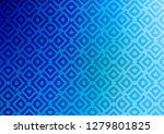light blue vector texture with... | Shutterstock .eps vector #1279801825