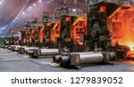 Small photo of The equipment of the rolling mill for metal deformation