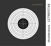 target icon sign vector...   Shutterstock .eps vector #1279855768