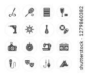 16 calligraphist  tennis player ... | Shutterstock .eps vector #1279860382