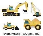 construction or mining... | Shutterstock .eps vector #1279888582