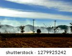 white smoke from agriculture... | Shutterstock . vector #1279925242